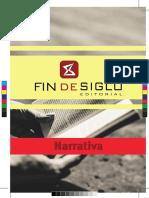 Catálogo Narrativa de Fin de Siglo 2017