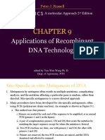 Aplication of Recombinant Dna Technology