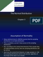 Chap 3 Normal Distribution