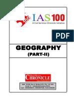 Geography - II