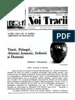 Nt65_feb80_Tracii, Pelasgii, Aheii - Fondazione Europea Dragan