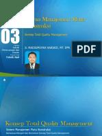 Modul 03. Sistem Manajemen Mutu Konstruksi