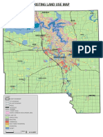 Johnson County Existing Land Use Map (2017)