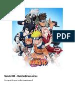 Naruto RPG(Livro Do Mestre)