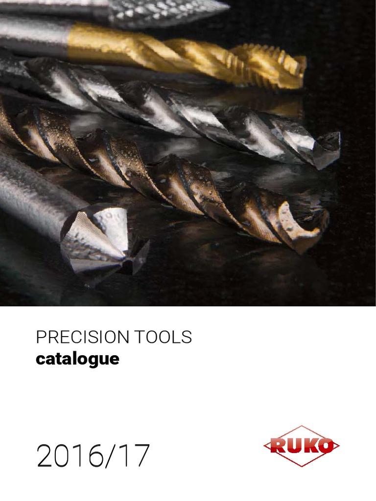 All Sizes RUKO Morse Taper Shank Drill Bits HSS 10.0-50.0mm High Quality