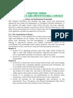 Chapter 3 Regulatons Thunguma