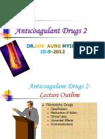 AnticoagulantDrugs 2 ,September 10