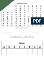 Coleccion de 100 Matrices de Letras Para Trabajar La Dislexia (1)