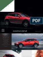 Brosura Mazda CX-3 (1)