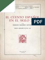 El cuento español en el siglo XIX