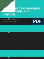 Assesment Examination (s&d)