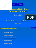 2017 06 09 Sustainable Homeownership Conference David Bank Presentation Slides 06-15-2017