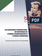 Le esigenze americane in materia di cyber-terrorismo e cyber-warfare. Analisi strategica delle contromisure  (di Stefano Mele)