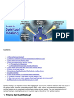 Guide for Spiritual Healing