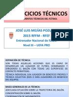 50 Ejercicios Tecnicos Futbol