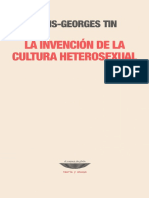 2COMP)Louis-Georges Tin - La Invencion de La Cultura Heterosexual