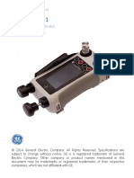 Dpi611 Pressure Calibrator User Manual English