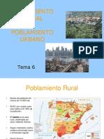 Poblamiento Rural y Urbano.