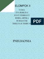 Kelompok II Pneumonia