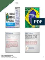 Trf Tarde -  - Direito Constitucional - 08.08.2016 - 01