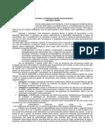 O Conceito e a Pratica de Gestao de Documentos
