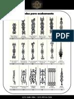 Catálogo Forja - Grades Para Acabamento