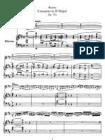 F. Busoni - Violin Concerto in D Major