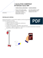 Medication Calculation Review 2009