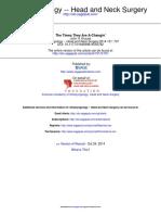 Otolaryngology Head and Neck Surgery 2014 Krouse 707 8