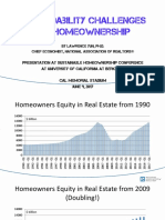 2017 06 09 Sustainable Homeownership Conference Lawrence Yun Presentation Slides 06-16-2017