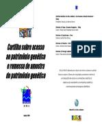 Cartilha - Acesso Ao Patrimônio Genético e Remessa de Amostra Do Patrimônio Genético
