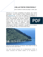 Cuántas Islas Tiene Indonesia