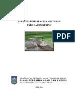 Skenario Pemanfaatan Air Tanah