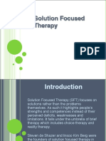 Solution Focused Therapy 9