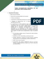 Evidencia 1 Informe Documentación Requerida en Una Negociación Internacional Según Normatividad