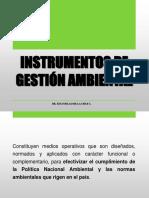 1.Instrumentos de Gestión Ambiental