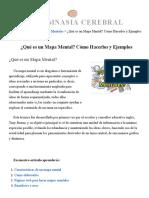¿Qué Es Un Mapa Mental_ Cómo Se Hacen, Ejemplos y Más