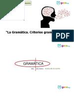 Criterios gramaticales