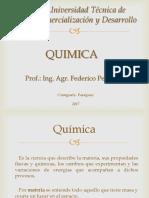 Química Unidad I UTCD