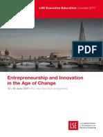 LSE Entrepreneurship and Innovation