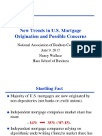 New Trends in U.S. Mortgage Origination and Possible Concerns