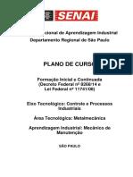 Plano de Curso CAI Mec Manut 2014