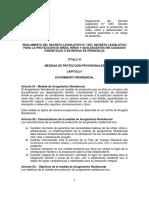 Reglamento Ley 1297 PROPUESTA