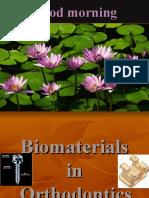 Biomaterials in Orthodontic
