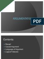 Argumentation 3