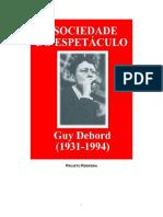 Sociedade do Espetáculo (Guy Debord, 1967)