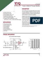 1010fe_Fast ±150mA Power Buffer