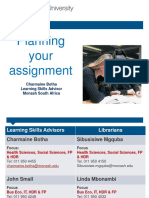 AZA3360 Lab Report -Planning Your Assignment 2015ed