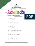 leccion factorizacion