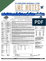 6.16.17 at MOB Game Notes